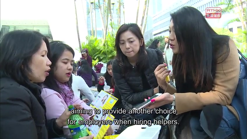 Domestic Helpers in Hong Kong
