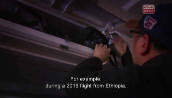Theft in Aircraft Cabin