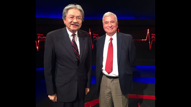 Interview with John Tsang & public nomination for CE