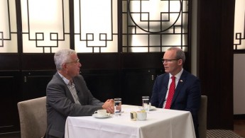 Interview with Ireland Deputy Prime Minister, Simon Coveney & Foreign investment in China