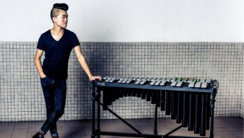 M+ ink art, artist Christian Marclay, percussionist Matthew Lau & tribute to Yu Kwang-chung